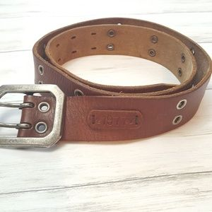American Eagle Outfitters brown leather belt sz 34